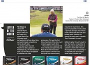 Golf Monthly Letter of the Month